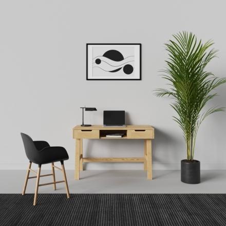 Drevený Škandinávsky Písací Stôl - 10127