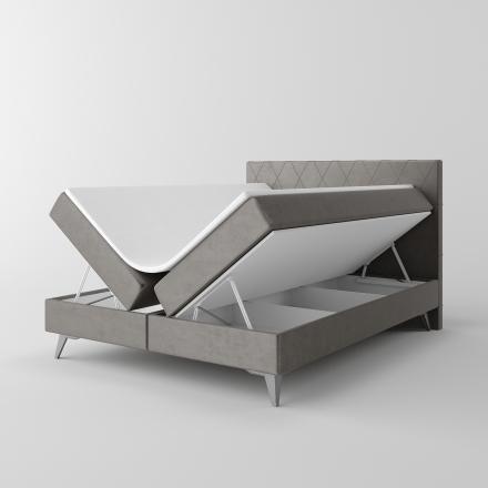 Čalúnená kontinentálna posteľ - 10182