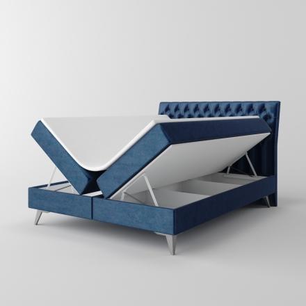 Čalúnená kontinentálna posteľ - 10235