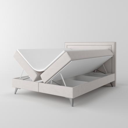 Čalúnená kontinentálna posteľ - 10342