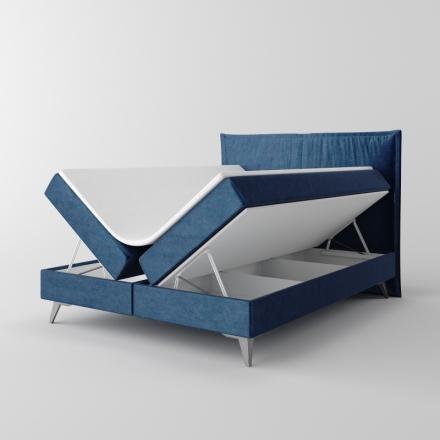 Čalúnená kontinentálna posteľ - 10390