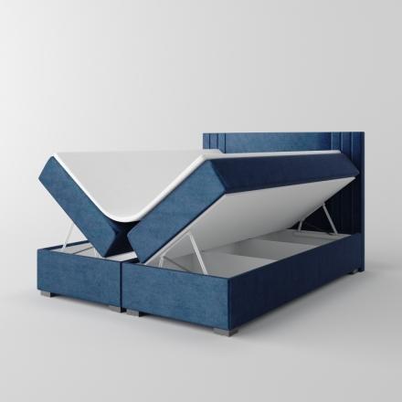 Čalúnená kontinentálna posteľ - 10665