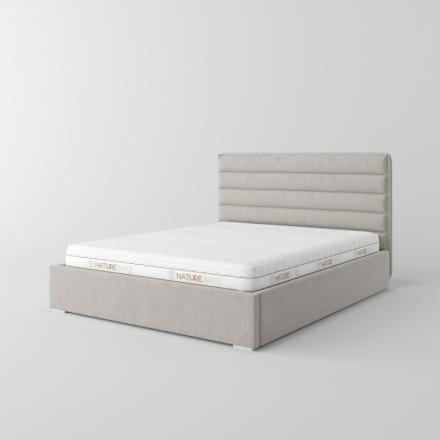 Manželská čalúnená posteľ - 10738