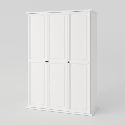 Biela Trojdverová Skriňa - 2152