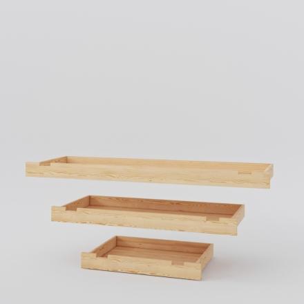 Zásuvka na borovicovú posteľ - 3223