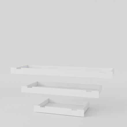 Zásuvka Pod Bielu Posteľ - 4713