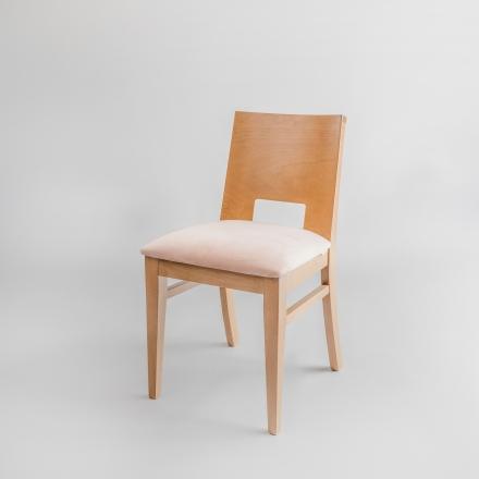 Buková stolička Velvet - 8460