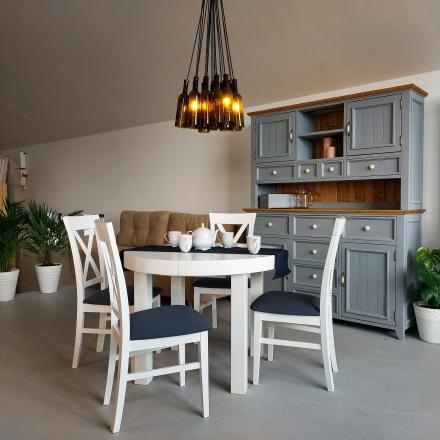 Biely stôl do obývačky - 8704
